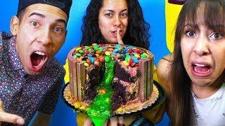SLIME CAKE Prank War Revenge Prank on my Brother and Sister!