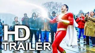 SHAZAM Trailer NEW International (2019) Superhero Movie HD