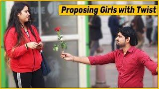 Proposing Girls Prank with Twist | The HunGama Films