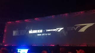 Crowd Reaction NEGAN reveal teaser trailer EVO 2018 Tekken 7 Walking Dead