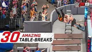 WWE 2K18 Top 30 Extreme Table Moments You HAVE to SEE!
