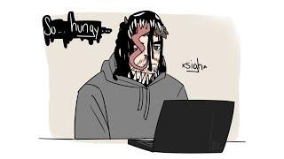Funny Venom Comics: HUNGRY!!
