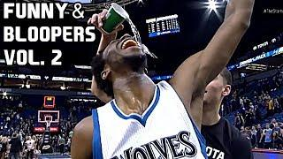 NBA Funny Moments & Bloopers of All Time Vol. 2 ● Curry, LeBron, Durant, Harden