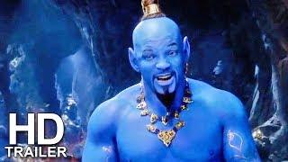 ALADDIN Official Trailer #2 (2019) Will Smith, Disney Movie HD