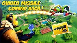 *LEGENDARY* GUIDED MISSILE RETURNING ! | Fortnite Twitch Funny Moments #127