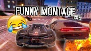 FUNNY ASPHALT 9 MONTAGE #5 (Funny Moments and Stunts)