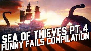 Sea of Thieves Funny Moments and Fails #4 Compilation (March 2018)
