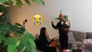 Another Guy Sent Me Flowers PRANK On Boyfriend!!! (HE FREAKS OUT)