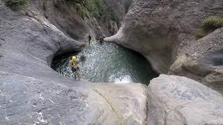 canyoning oued el bared stif .... extreme sports algerie