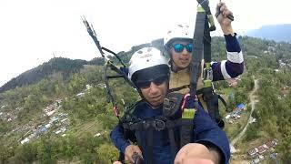 Paragliding at Deolo, Kalimpong...
