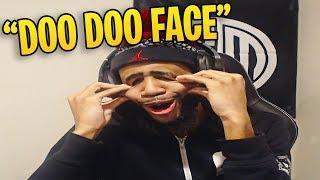 Daequan Shows his HIDDEN TALENT!! (Doo Doo Face!)   Fortnite Funny Moments
