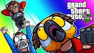 GTA5 Online Funny Moments - Opressor Mk2 Elimination and Robo Horse Racing!