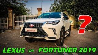 FORTUNER 2019 or LEXUS worth Rs.2.33 crore ????????