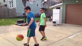 1v1 basketball game vs Xtreme Abe Im Gay