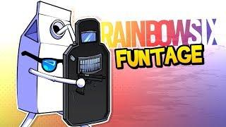 Rainbow Six Siege FUNTAGE! - The BEST Clutch EVER & MORE! (Funny Moments)