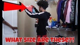 CAUGHT IN PREGNANT SISTER'S UNDERWEAR DRAWER PRANK!!!
