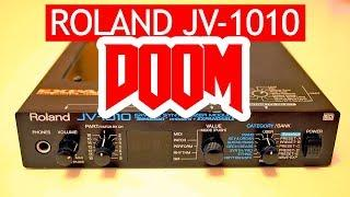 Doom (1993) soundtrack on professional Roland JV-1010