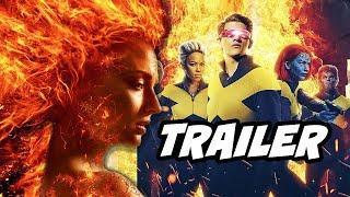 X-Men Dark Phoenix Trailer 3 - Marvel X-Men Easter Eggs Breakdown