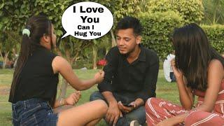 Cute Girl Propose Desi Boy With A Twist   Propose Karna Sikhado   Prank In India