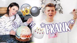 WYBUCHAJĄCY TORT *PRANK* - fail | Sylwia Lipka & Dominik Rupiński