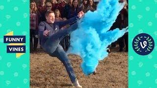 TRY NOT TO LAUGH - Gender Reveal Compilation | Fails & Funny Moments | Funny Vines May 2018