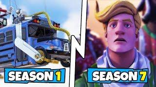 Every Fortnite Battle Royale Trailer (Season 1 - Season 7)