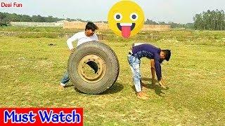 Must Watch New Funny????????Comedy Video 2019 || Episode 59 || Try ✔️Not To Laugh by Desi Fun | Desi