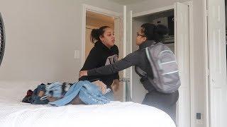break up prank on girlfriend...*gone wrong*