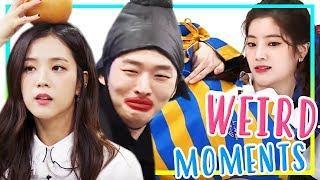 [K-POP] IDOLS WEIRD MOMENTS : FUNNY ???? (WannaOne, BLACKPINK, Seventeen, etc)