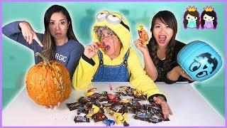 I Told My Kids I Ate All Their Halloween Candy skit! Funny Halloween Jokes for Kids