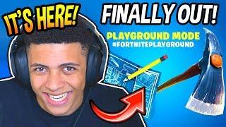 MYTH REACTS TO *NEW* PLAYGROUND LTM MODE! (REAL) Fortnite SAVAGE & FUNNY Moments