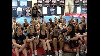 Cheer Extreme ~ Beneath The Crown ~ Sr Elite ~ First Practice 2018 19