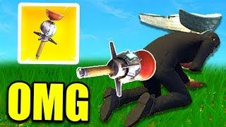 *NEW* CLINGER GRENADE FUNNY PLAYS! Fortnite - Funny and OP Moments