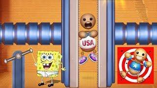 Spongebob Games Frenzy vs Kick The Buddy - Funny Spongebob Mini Games vs The Buddy (iOS)