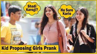 12 Years Old Saying Shadi Karogi Mujhse Prank  | The HunGama Films