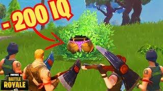 -200 IQ HIDING - Fortnite Funny & WTF Moments #2 - Clash LOL Funny Montages & Epic & Trolls