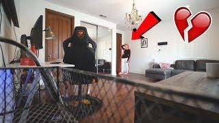 I FORGOT OUR 2-YEAR ANNIVERSARY PRANK ON GIRLFRIEND!! (NOT GOOD)