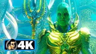 AQUAMAN Trailer #1 (4K ULTRA HD - 2018) Jason Momoa DCEU Movie