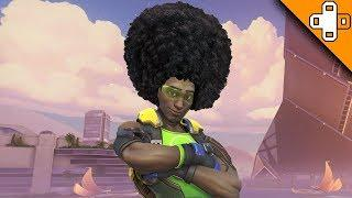 Lucio Gets a New Hairstyle LOL! Overwatch Funny & Epic Moments 722