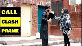Epic - Call Clash Prank on Cute Girls & Angry Pathan | SUPERBOY PRANKS | Pranks in Pakistan