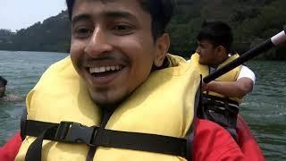 Adventure sports in Naukuchiatal (Nainital) #Kayaking #Boating #Bowling (Uttrakhand vlog 2018-2019)