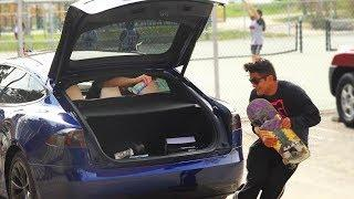 BAIT CAR PRANK *GONE BROCCOLI*