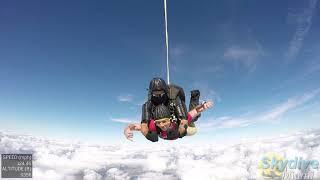 Nick's breathtaking adventure at Skydive Miami (12-31-2018)