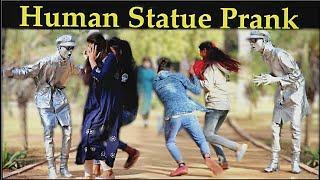 Epic Human Statue Prank ft Bhasad news !! 3 JOKERS Pranks !! pranks in india ! rajasthan