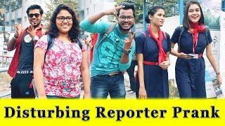 Disturbing News Reporter Prank On Girls || Prank In India 2018 || Funday Pranks