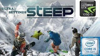 STEEP THE EXTREME SPORTS GAME | GTX 1050 ti | ULTRA settings gameplay ????️????