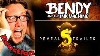 Bendy and the Ink Machine: Chapter 5 Trailer REACTION! | THE FINAL FIGHT! |