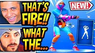 """STREAMERS REACT TO *NEW* """"GLITTER"""" EMOTE/DANCE! (STAR POWER V2!) Fortnite FUNNY & SAVAGE Moments"""
