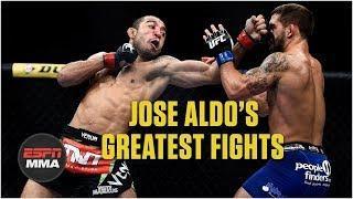 Jose Aldo's best WEC and UFC fights | Highlights | ESPN MMA