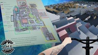 BMX Streets PIPE - This New Map Is Huge! - Action Sports Campus Mod Ep. 1